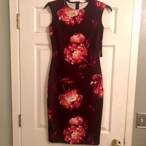 New York and Co. floral dress!